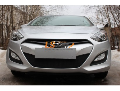 Защита радиатора  Hyundai i30 2012 black