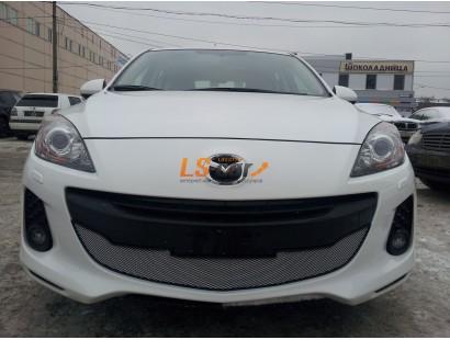 Защита радиатора Mazda 3 2011-2013 chrome