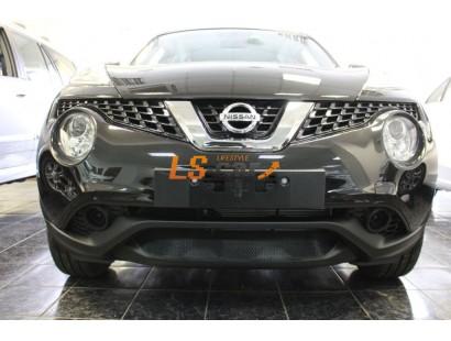 Защита радиатора Nissan Juke 2014- black