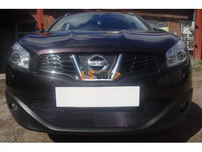 Защита радиатора Nissan Qashqai 2011-2014 black