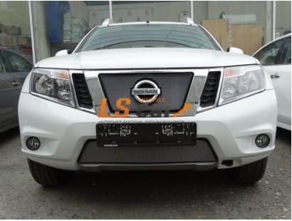 Защита радиатора Nissan Terrano 2014- chrome низ