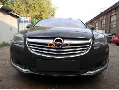 Защита радиатора Opel Insignia 2014- black