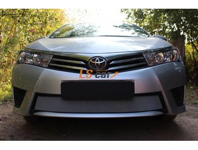 Защита радиатора Toyota Corolla 2014- chrome