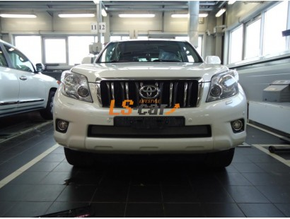 Защита радиатора Toyota LC Prado 150 2009-2014 chrome