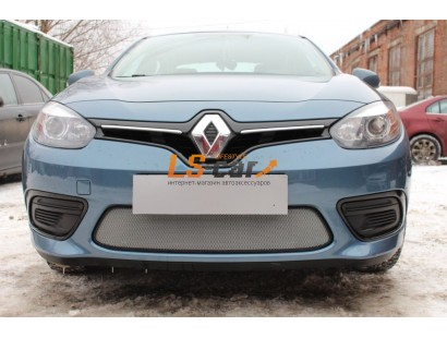 Защита радиатора Renault Fluence 2013- chrome