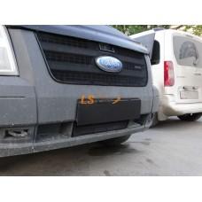 Защита радиатора  Ford Transit 2006-2015 низ black