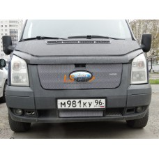 Защита радиатора  Ford Transit 2006-2015 верх chrome