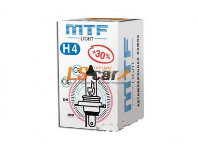 """Лампа галогеновая """"MTF""""  H7 12V 55W Standart+30% HS1207"""