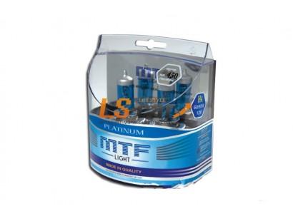 """Лампа галогеновая """"MTF""""  H9 12V 65W Platinum,комп. 2шт. HР3973"""