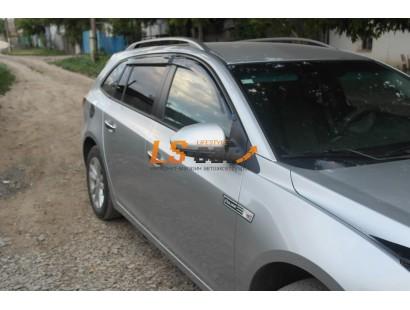 """Дефлекторы окон накладные Chevrolet Cruze (2011-) универсал """"Cobra"""""""
