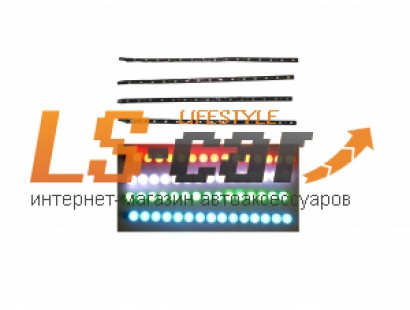 Лента светодиодная 1210 30 см (15 светодиодов ) (красная)