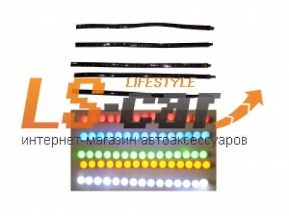 Лента светодиодная 0603 30 см (15 светодиодов ) (синяя)
