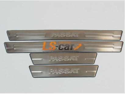 Накладки на пороги Volkswagen Passat B5