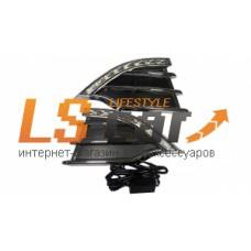 Рамки с ходовыми огнями Ford Kuga II 2012-2016