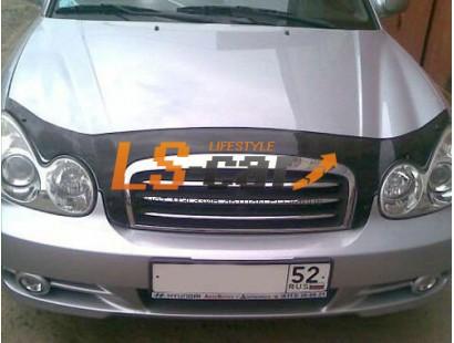 """Отбойник капота HYUNDAI SONATA V   EF (2001-2004; 2004-2010 - сборка ТАГАЗ) """"VIP-TUNING"""""""