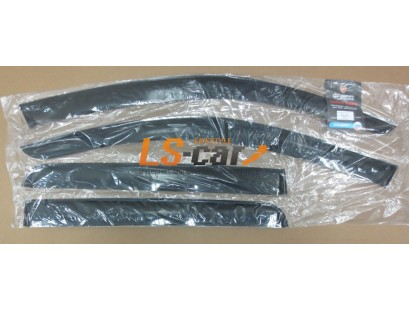 """Дефлекторы окон накладные Mitsubishi Outlander II XL (2007-2012) \ C. C-Crosser \ P. 4007 (2007-2012) """"Cobra"""""""