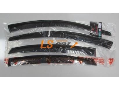 "Дефлекторы окон накладные Nissan Almera (2012-; кузов G15) седан ""Cobra"""