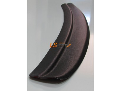 "Накладка на бампер пластик Hyundai Solaris 2010-2014 седан ""Avenue"""