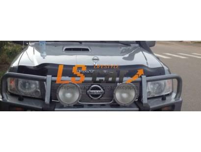 """Отбойник капота NISSAN PATROL (1998-2004; кузов Y61) """"VIP-TUNING"""""""