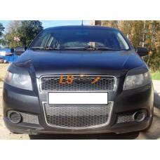 Реснички на фары Chevrolet Aveo Hb 3dr 08-