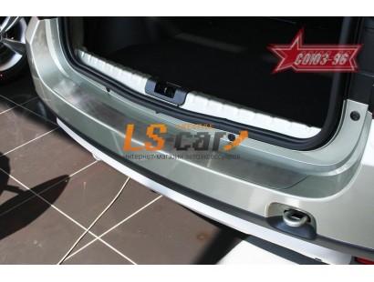 "накладки на бампер Renault Duster 2012- ""СОЮЗ-96"""