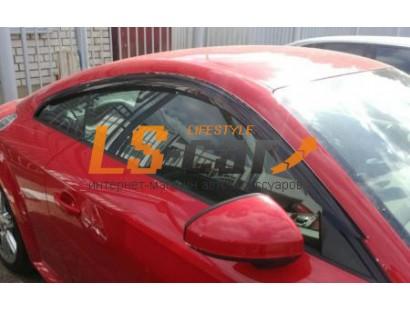 """Дефлекторы окон накл. AUDI TT (2014-; кузов 8S) """"COBRA"""""""