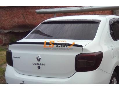 Спойлер на заднее стекло Renault Logan 2014-...