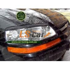 Реснички на фары Chevrolet Aveo седан/хэтчбек 2003-2008