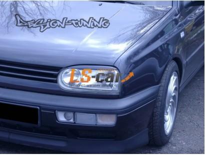 Реснички на фары VW Golf-3 с 1991-1997 г.в.