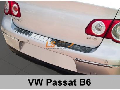 "Накладка на бампер VW Passat B6 2005-2011 ""ALVI-STYLE"""