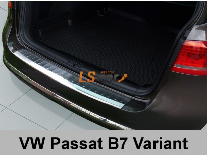 "Накладка на бампер VW Passat B7 2011 Variant ""AVISA"""