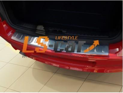 """Накладка на бампер BMW 1 (E81/E87) 2004-2012 """"AVISA"""""""