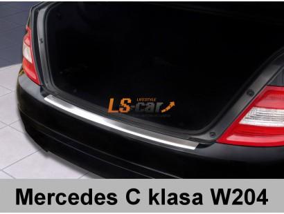 "Накладка на бампер Mersedes C-class 2007- ""AVISA"""