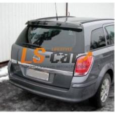 Спойлер задней двери Opel Astra H 2004-