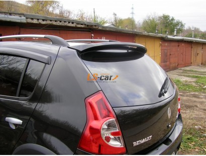 Спойлер на заднюю дверь Renault Sandero 2008-2014
