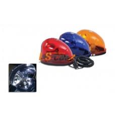 Маяк галогеновый TBL04 (24V, синий, магнит) 20/5302