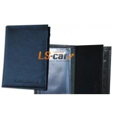 Бумажник водителя с обложкой паспорта, карман виз. карт/БВЛ-6К/Л