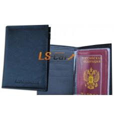 Бумажник водителя, карман виз. карт, карман по высоте обложки/БВЛ-10К/Л