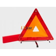 Знак аварийной остановки Dollex с отражателем в пласт. кейсе / ZNA-01