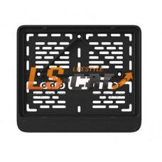 Моторамка пластик ARS черная 190мм*145мм нового образца/50
