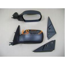 Зеркала боковые Chevrolet Niva (YH-3382) чёрные