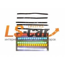 Лента светодиодная 0603 30 см (15 светодиодов ) (белая)